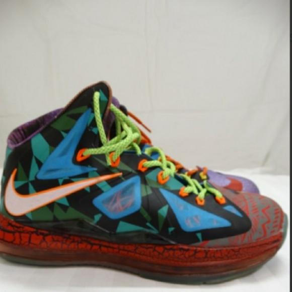 Nike Shoes   Lebron James What The Mvp